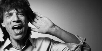 Mick Jagger - foto da twitter
