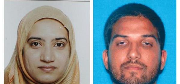 I coniugi dell'attentato di San Bernardino