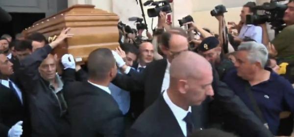 I funerali di Carlo Pedersoli, in arte Bud Spencer