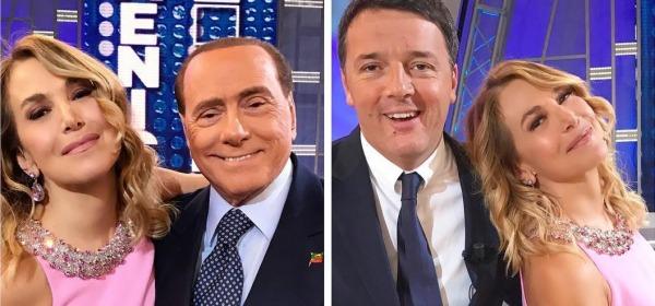 Sfida Tra Renzi e Berlusconi Dalla D'Urso
